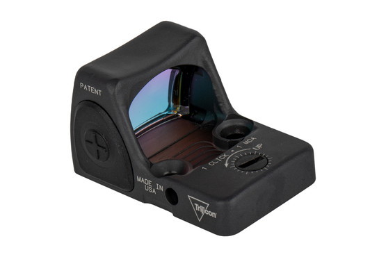 Trijicon RMR Type 2 adjustable reflex sight features a bright 1 MOA reticle and sniper gray finish perfect for your handgun slide