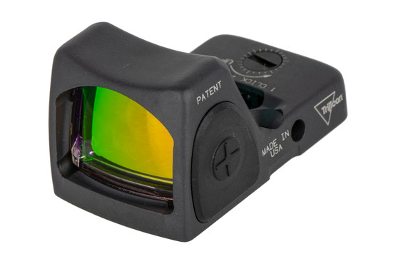 Trijicon 1 MOA RMR Type 2 Adjustable LED sniper red dot sight is designed to survive punishing handgun slide use