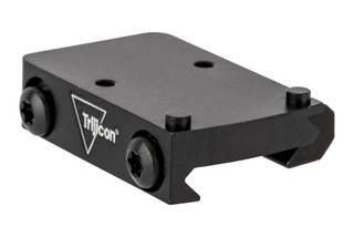 Trijicon RMR quick release low mount places RMR and SROs at the perfect height for low-height optics rails.