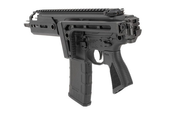 SIG MCX Rattler 300 BLK SBR comes with a 30 round magazine