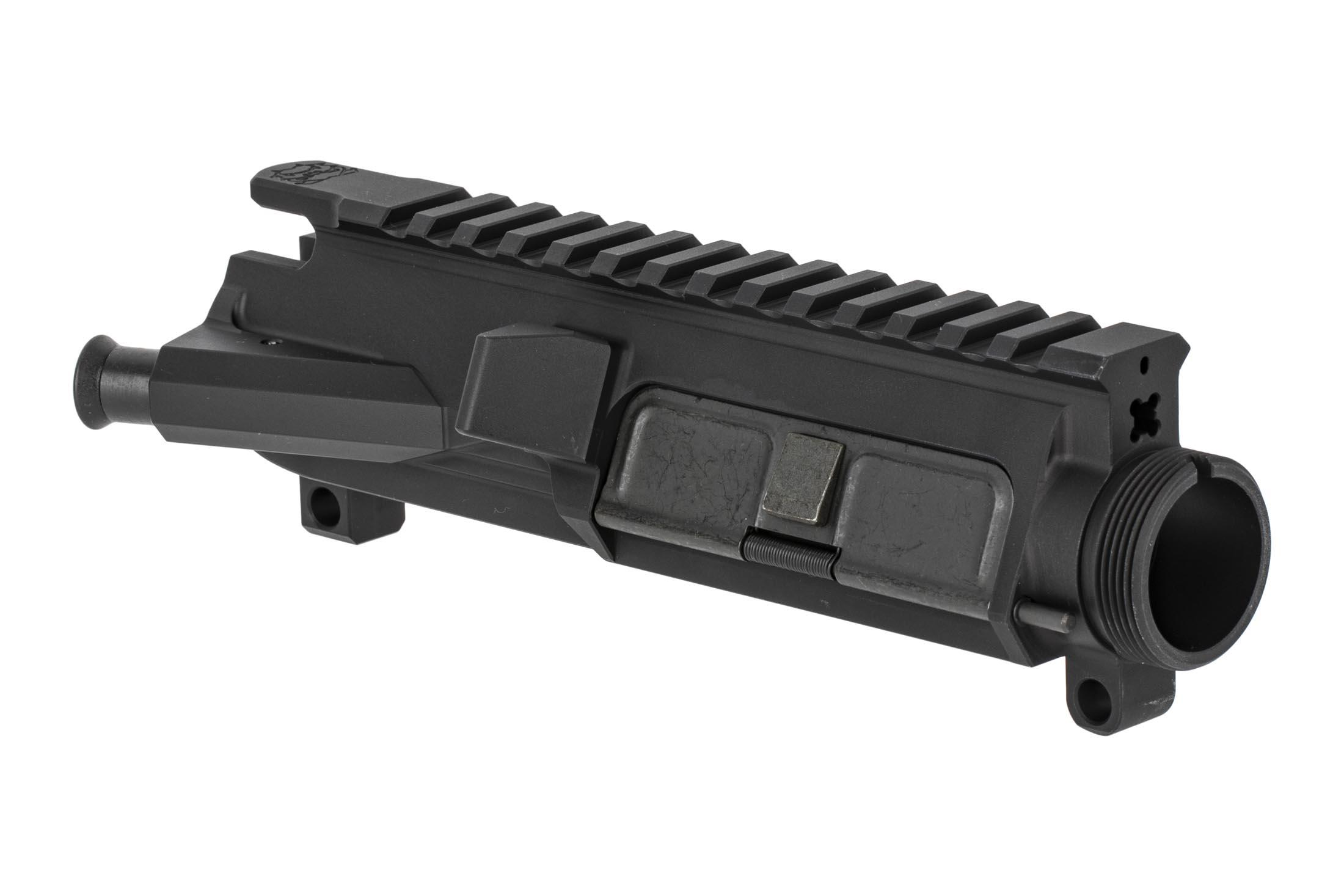 Rosco Manufacturing Purebred series billet 7075-T6 aluminum AR-15 upper receiver assembly with forward assist and port door