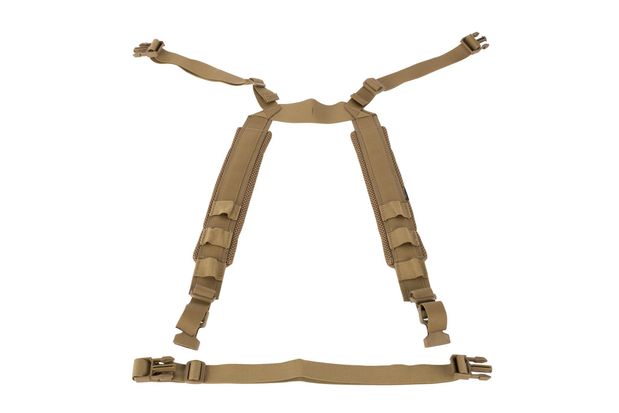 Mission Spec RackStraps Enhanced Coyote