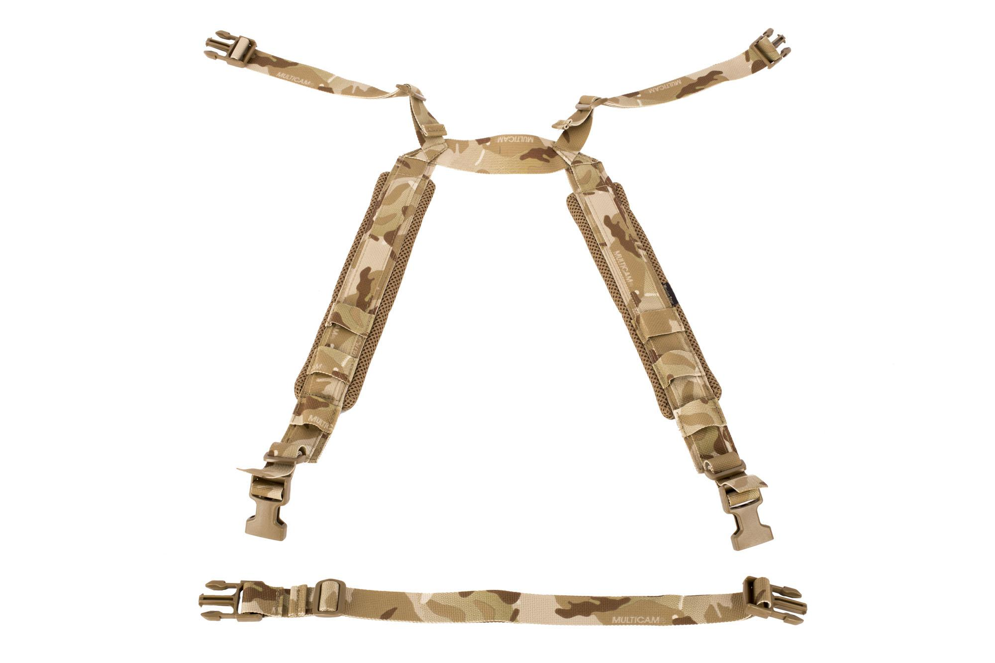 Mission Spec RackStraps Enhanced MultiCam Arid