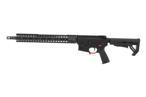 Strike Industries Sentinel Elite AR15 rifle is chambered in 223 wylde