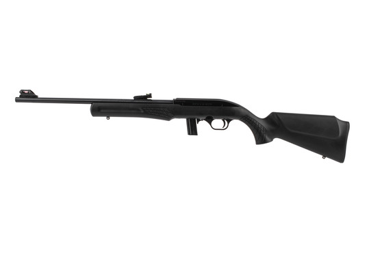 Rossi RS22 semi auto rimfire rifle features a synthetic stock