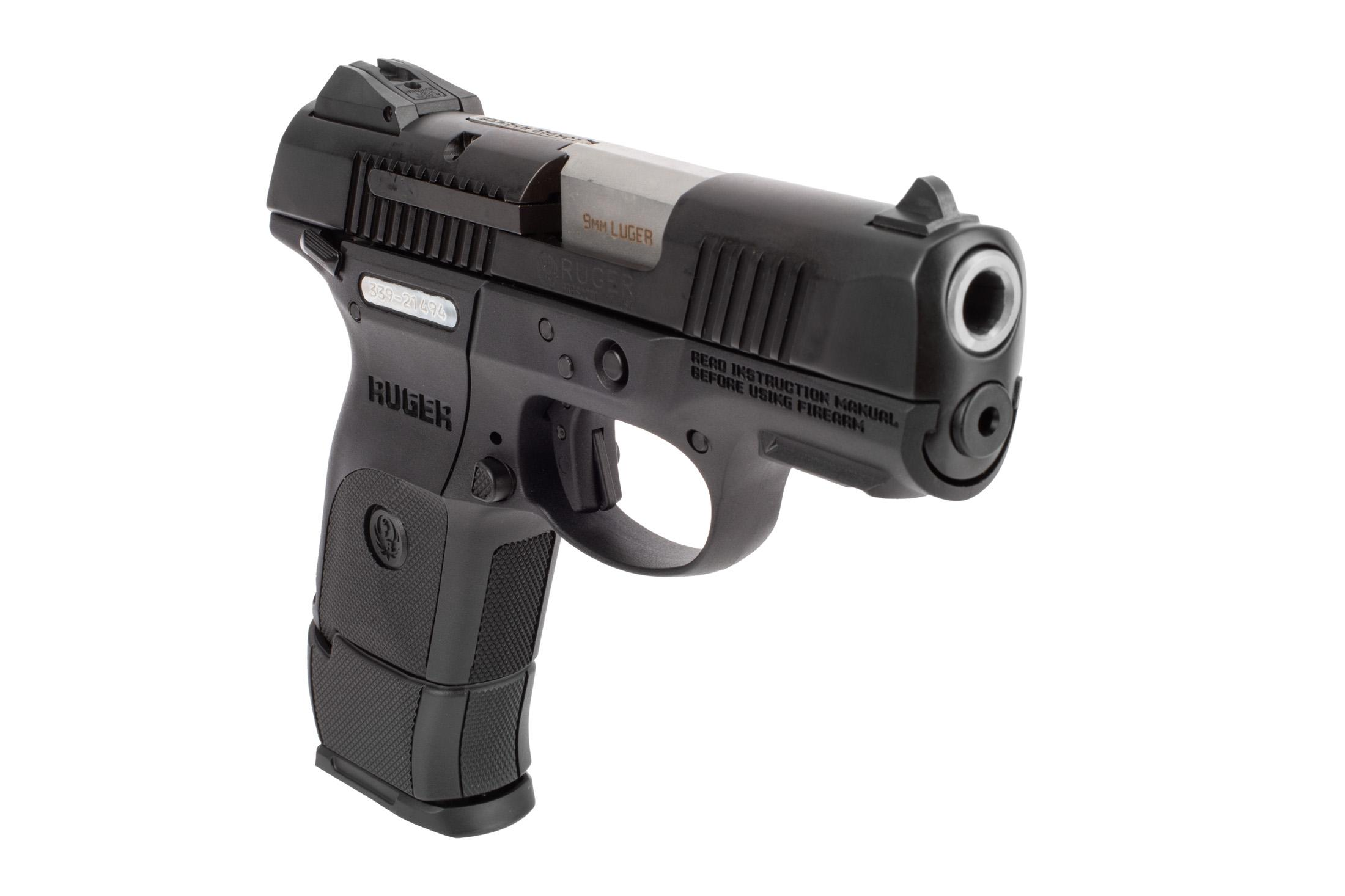 The Ruger SR9c has a frame and trigger safety