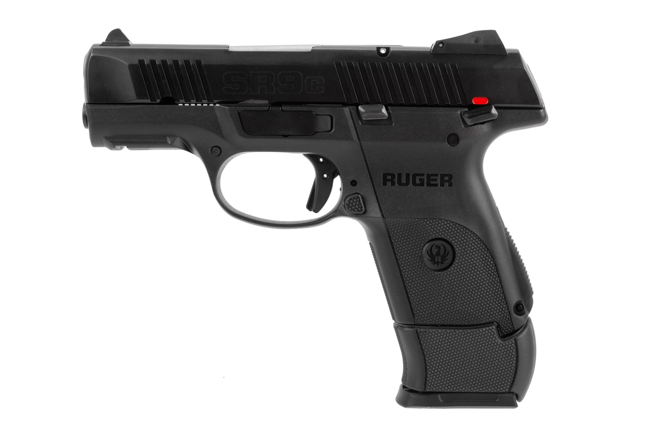 The Ruger SR9c has a cocked striker indicator