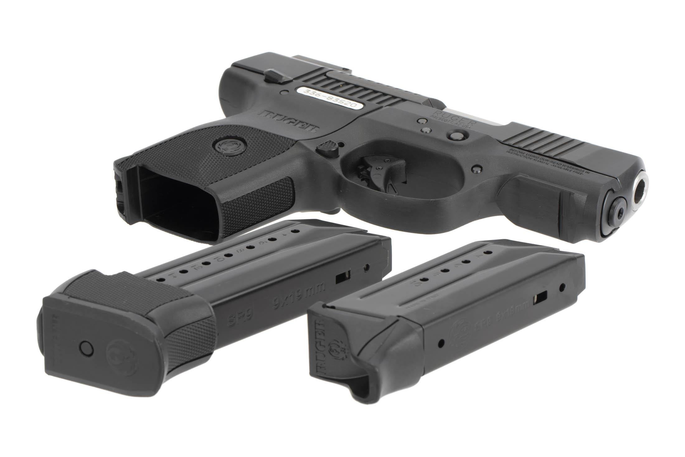 The Ruger SR9c comes with two magazines