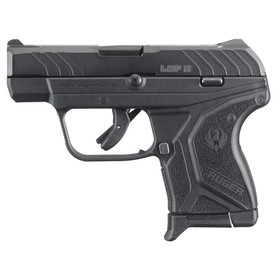 The Ruger LCP II features a slim frame and single stack magazine