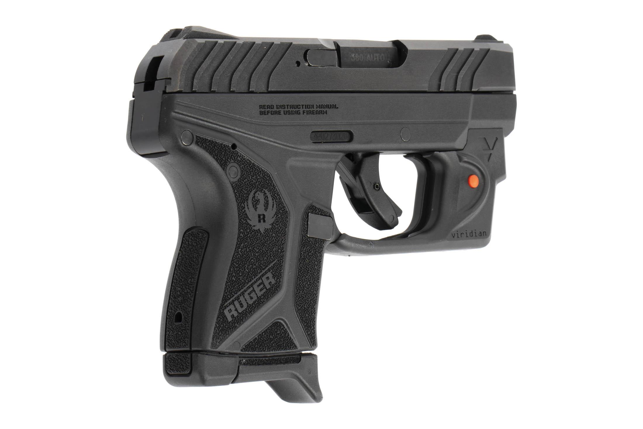 Ruger Lcp Semi Auto Pistol With Laser Sight Carpet