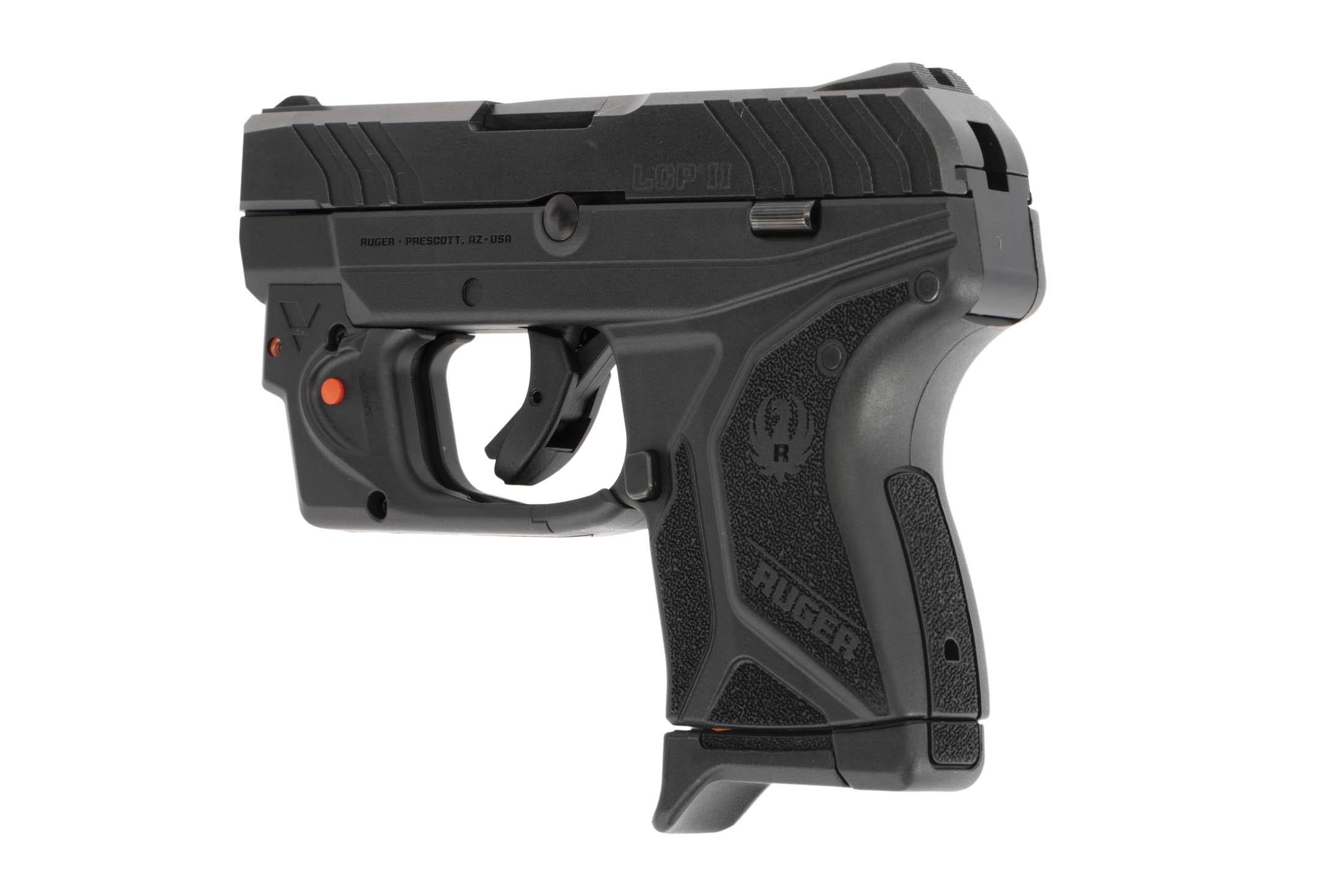 The Ruger LCP II is a hammer fired lightweight pistol