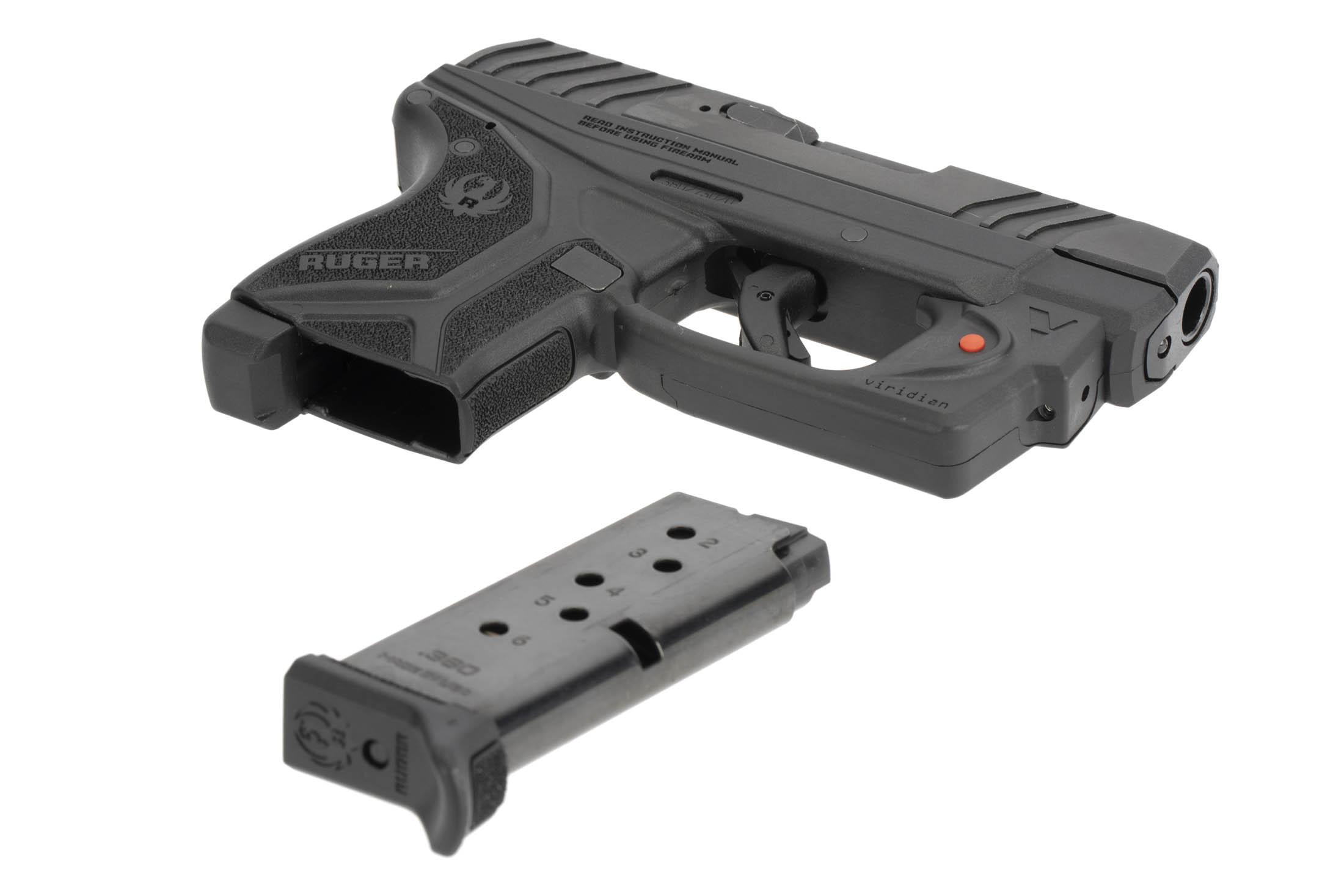The Ruger LCP II has a 6 round single stack flush fit magazine