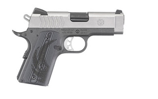 The Ruger SR1911 sub compact is chambered in 9mm and is great for concealed carry