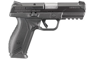The Ruger American is a full sized 9mm designed for duty and home defense