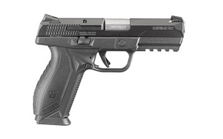 The Ruger American is striker fired and includes two 10 round teflon coated magazines