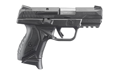 Ruger American 9mm Compact Handgun - 3.55in Barrel - Black