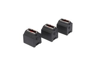The Ruger BX-1 10 round magazine pack of 3 features reliable function in 10/22 rifles