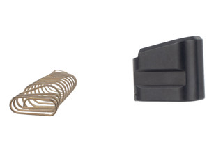 Shield Arms S15 Glock 43X Compatible Magazine Extension +5 features a 12 coil plus power spring