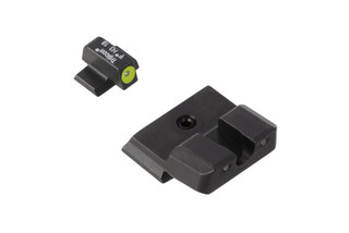 Trijicon HD Night Sights for Smith & Wesson M&P Shield handguns offer a hi-vis front sight with blacked out rear for instant sight acquisition