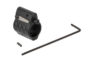 SLR Rifleworks Sentry 6 Adjustable gas block fits standard pencil profile barrels with .625in gas seats and set screw installation