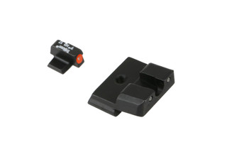 The Trijicon HD XR Night Sights for Smith and Wesson M&P Shield features green tritium inserts