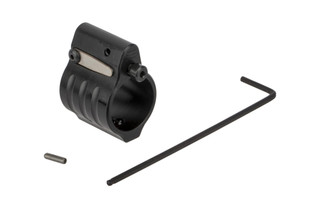 SLR Rifleworks Sentry 7 Adjustable gas block fits standard pencil profile barrels with .750in gas seats and set screw installation