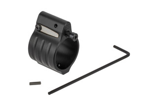 SLR Rifleworks Sentry 9 Adjustable gas block fits standard pencil profile barrels with .936in gas seats and set screw installation