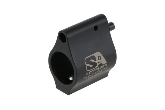 The Superlative Arms bleed off adjustable gas block .625 is compatible with AR15 and AR10 barrels