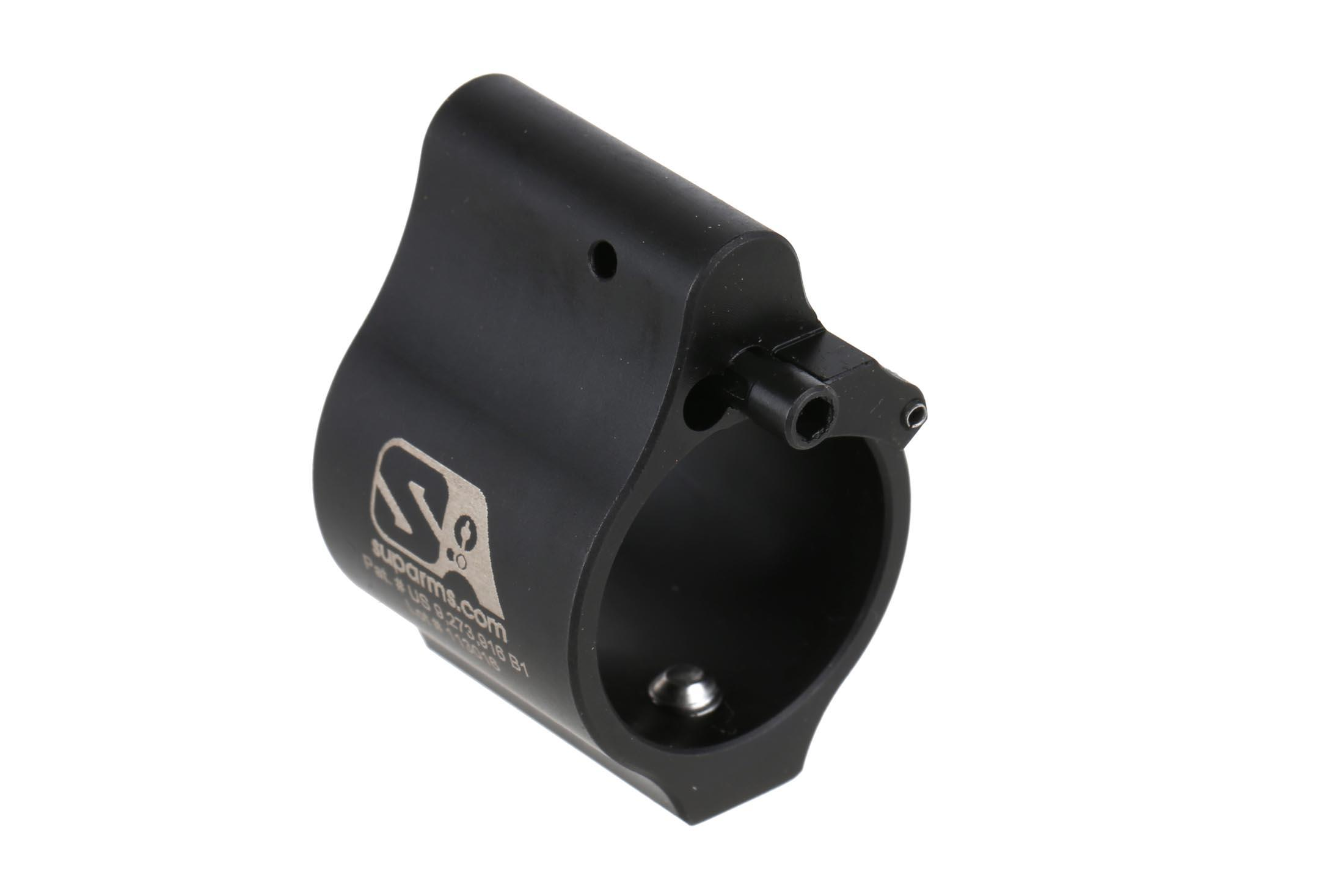 The Superlative Arms adjustable gas block for sale features multiple patented designs