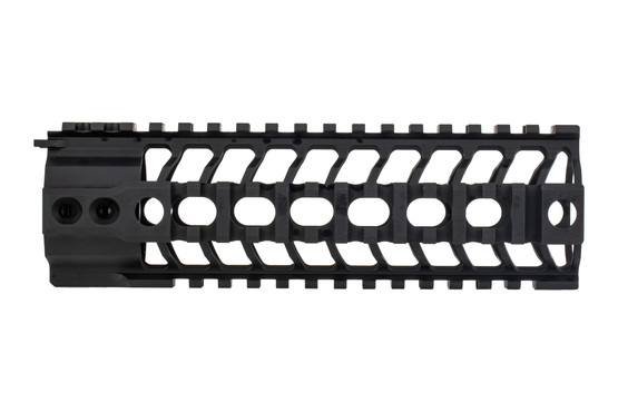Spike's Tactical SAR3 quad rail handguard is machined from 6061-t6 aluminum