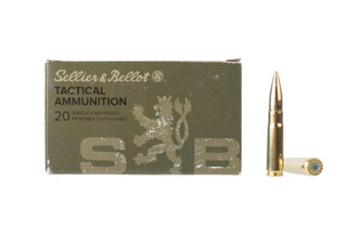 Sellier & Bellot's 200-grain 300 BLK ammunition offers subsonic performance at an affordable price for training and plinking