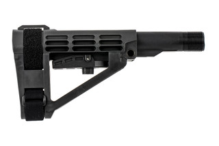 The SB Tactical SBA4 pistol brace comes with a Mil-Spec carbine buffer tube