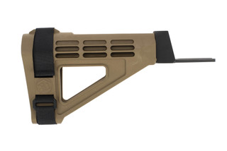 SB Tactical SBM47 Pistol Stabilizing Arm Brace for AK-47 and AK-74 pistols in Flat Dark Earth