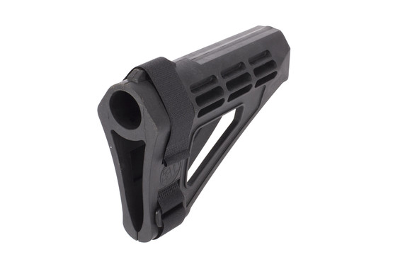 The sbm4 pistol stabilizing brace by sb tactical is batfe compliant for use on ar15 pistols.
