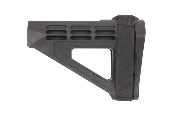 The smb4 pistol arm stabilizer brace is designed for shooting one handed