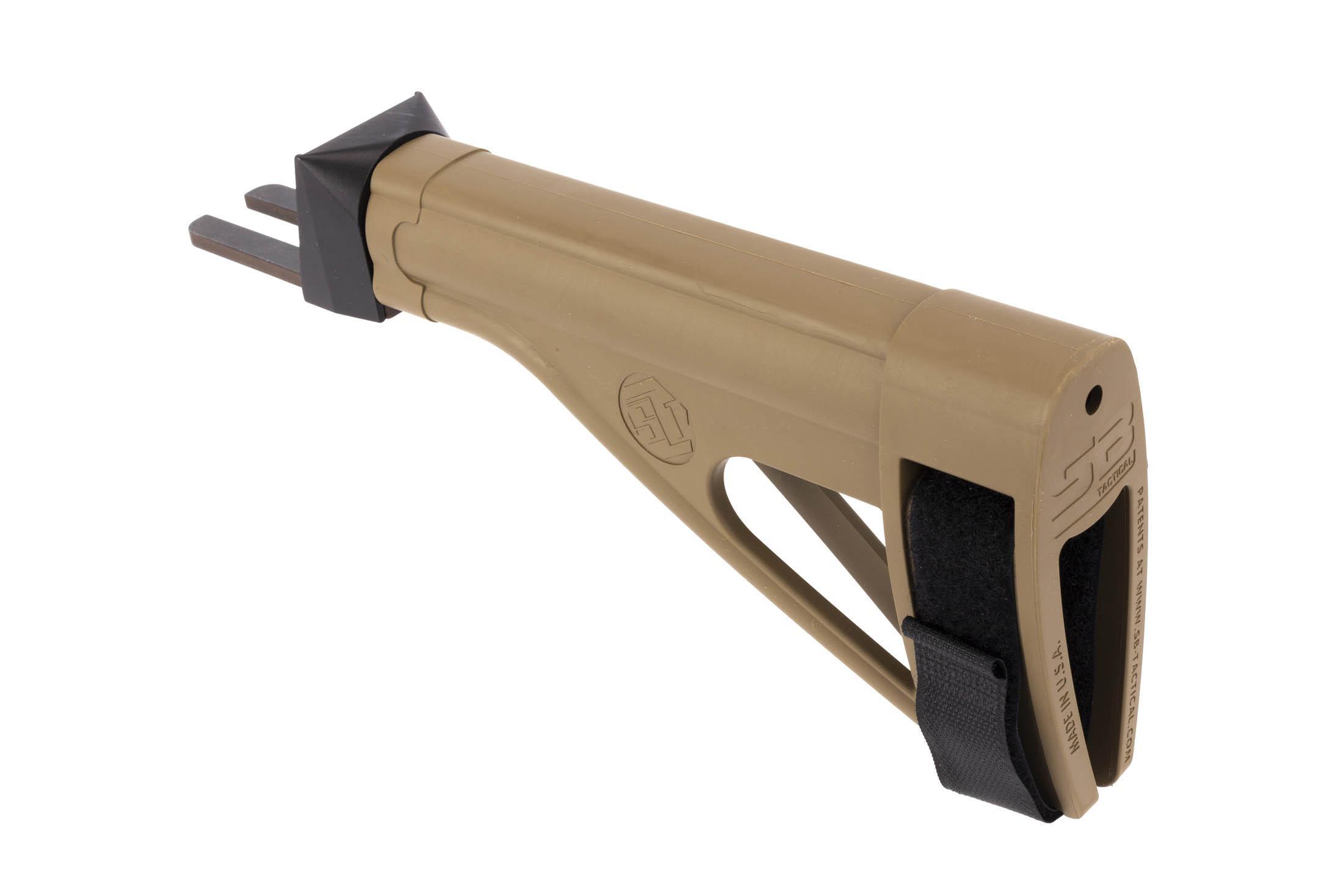 SB Tactical SOB47 AK Pistol Stabilizing Brace - Flat Dark Earth