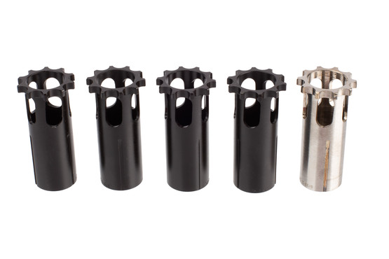 SilencerCo Piston Kit with O-Rings offers five pistons built with 17–4 stainless steel and heat-treated for durability