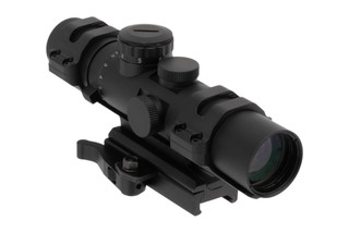 NcSTAR XRS 2-7x32mm Riflescope with Mil-Dot Reticle is constructed from durable aluminum with an anodized finish