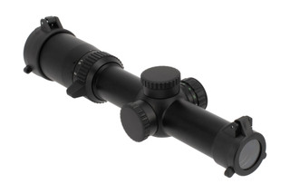 NcSTAR's STR Combo 1-6x24 Scope with SPR mount is constructed from durable aluminum with a black anodized finish
