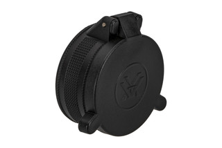 Vortex Optics Objective Flip Cap for the strikefire 2 features spring-loaded deployment.