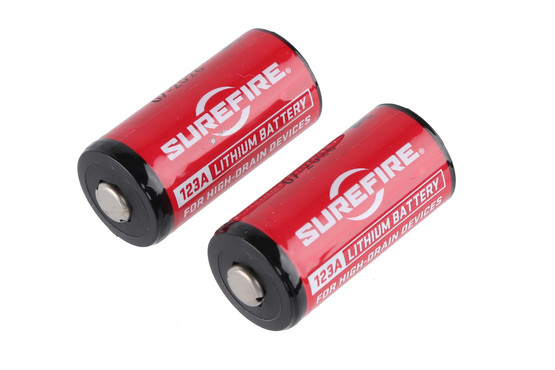 Splitter nya SureFire CR123A Lithium Batteries - 2 Pack SF2-CB LB-44