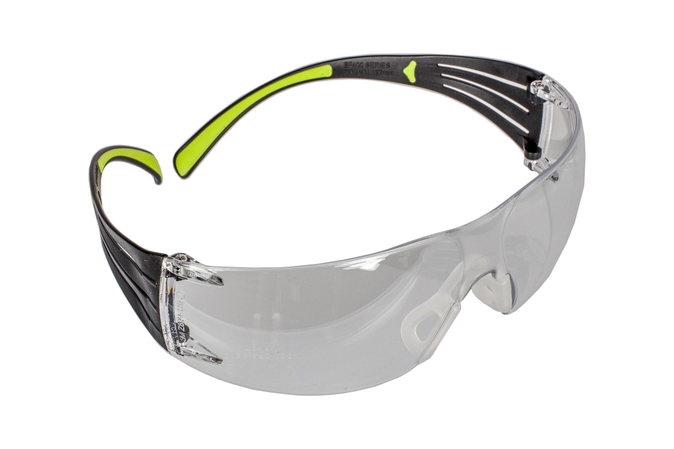 The Peltor Sport SecureFit 400 shooting glasses feature clear polorized lenses