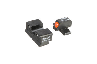 Trijicon HD Night Sights with orange outline fits SIG Sauer handguns with #8 front and rear sights.