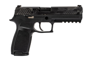 "SIG Sauer P320F full size 9mm handgun with 4.7"" barrel and 17-round capacity"