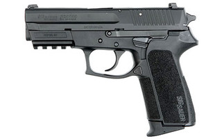The SIG Sauer 2022 is a double action hammer fired handgun