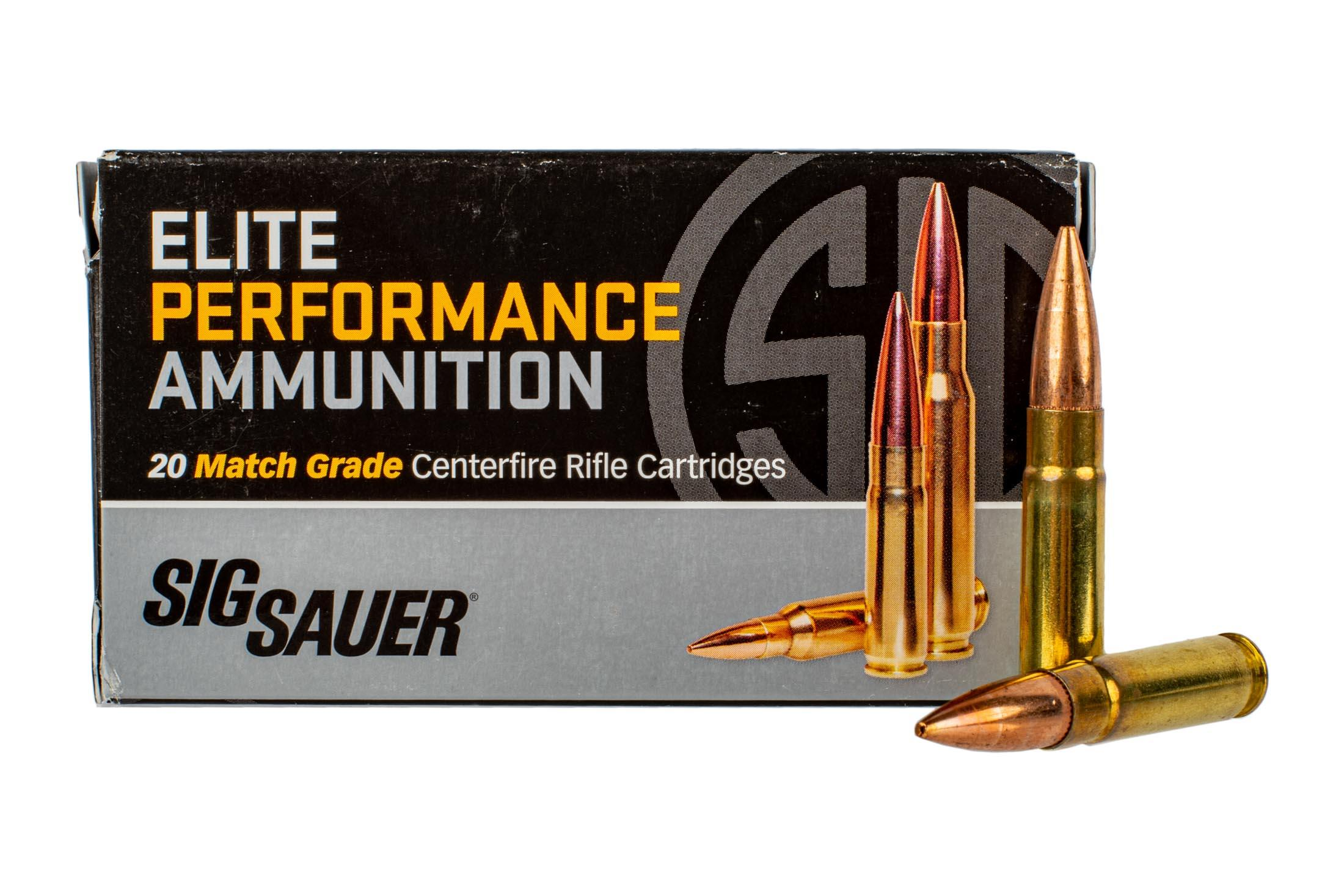 SIG Sauer 300 Blackout Subsonic 220gr Open Tip Match Ammo - Box of 20