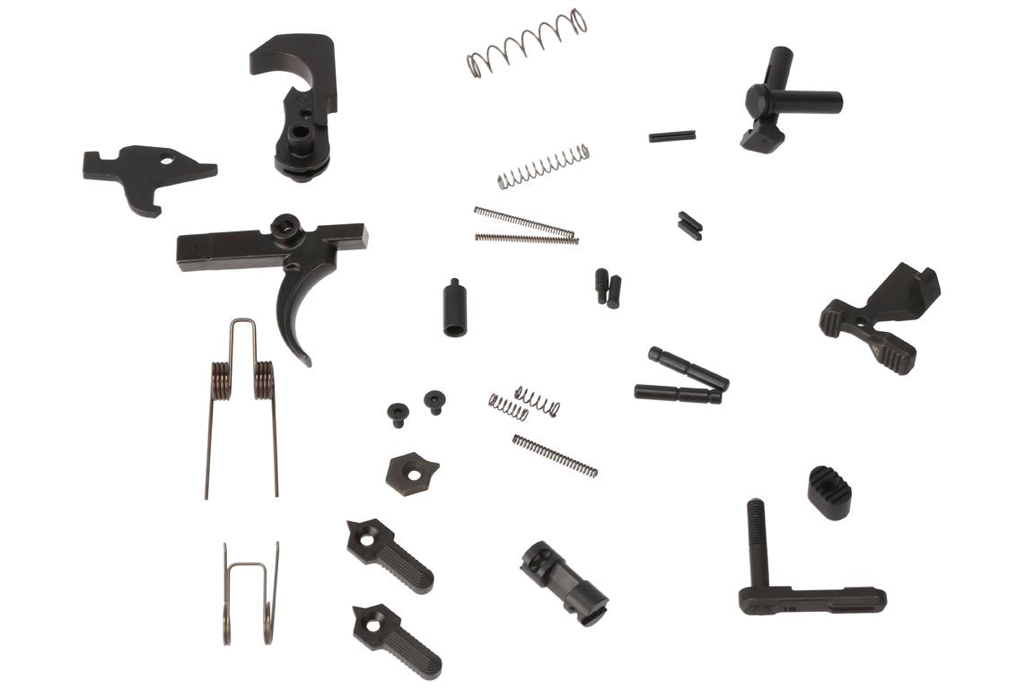 Strike Industries Enhanced Lower Receiver Parts Kit - No Pistol Grip
