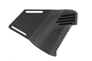 The Strike Industries megafin featureless grip is made from black reinforced polymer