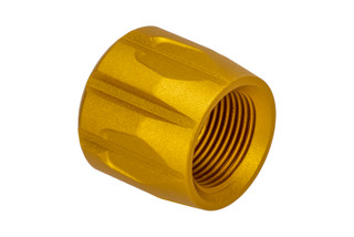 Strike Industries Enhanced Thread Protector for AR15 gold anodized