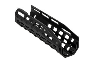The Strike Industries HAYL Rail Benelli M4 Handguard features a black anodized finish